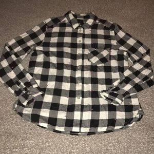 Women's American Eagle Boyfriend Flannel